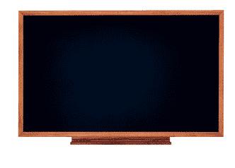 Vintage Board – Encadrement bois massif teinté foncé