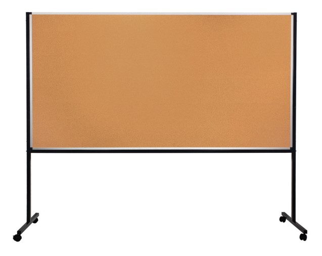 Panneaux d'affichage avec bandeau mélaminé
