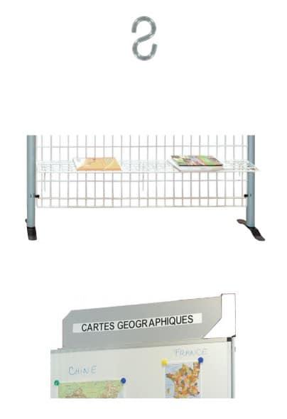 Accessoires pour panneaux d'exposition
